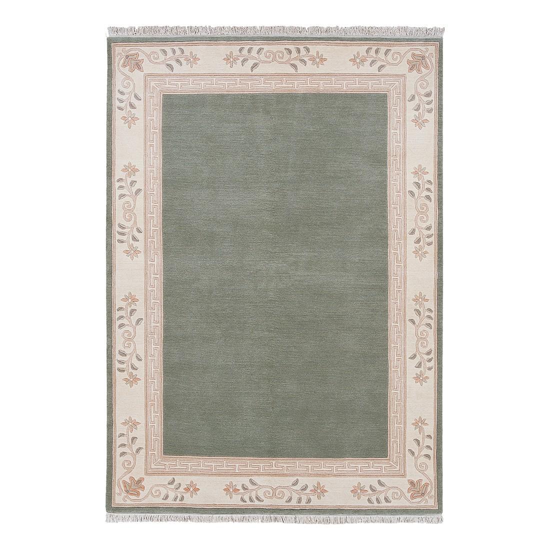 Teppich Floral - Grün - 170 x 240 cm, Luxor living
