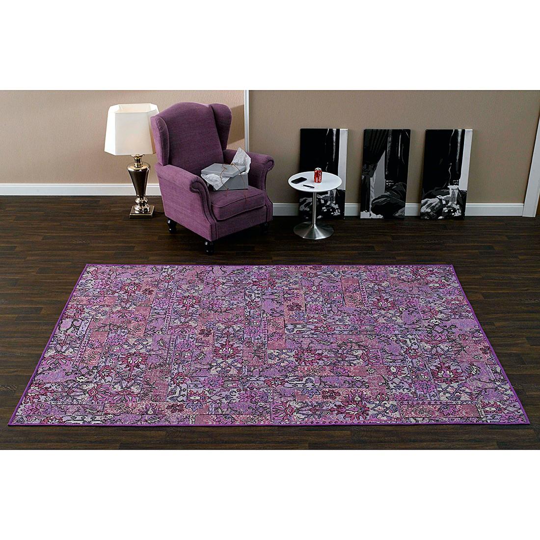 Teppich Floral – Violett – 200 x 300 cm, Schöngeist & Petersen kaufen