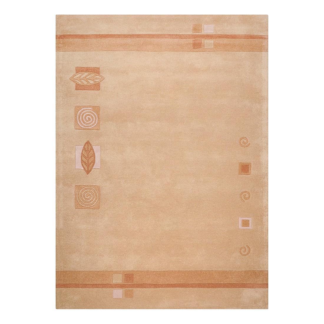Teppich Florida – Wolle/Beige – 90 cm x 160 cm, THEKO die markenteppiche günstig bestellen