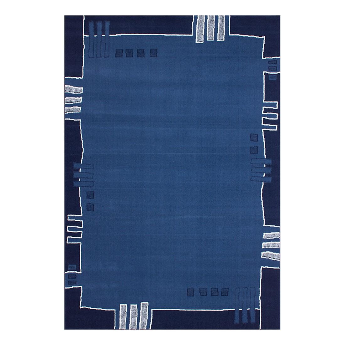 Teppich Dotty – Blau – 120 x 170 cm, Kayoom günstig online kaufen