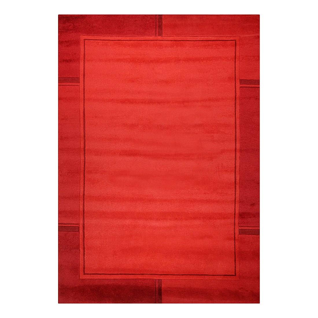 Teppich Ganges – Rot – 60 cm x 90 cm, THEKO die markenteppiche jetzt bestellen