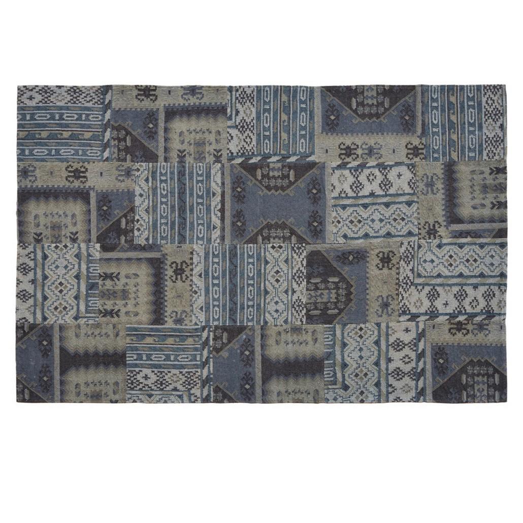 Teppich Gilpin –  Wolle – Blau, Loberon jetzt bestellen