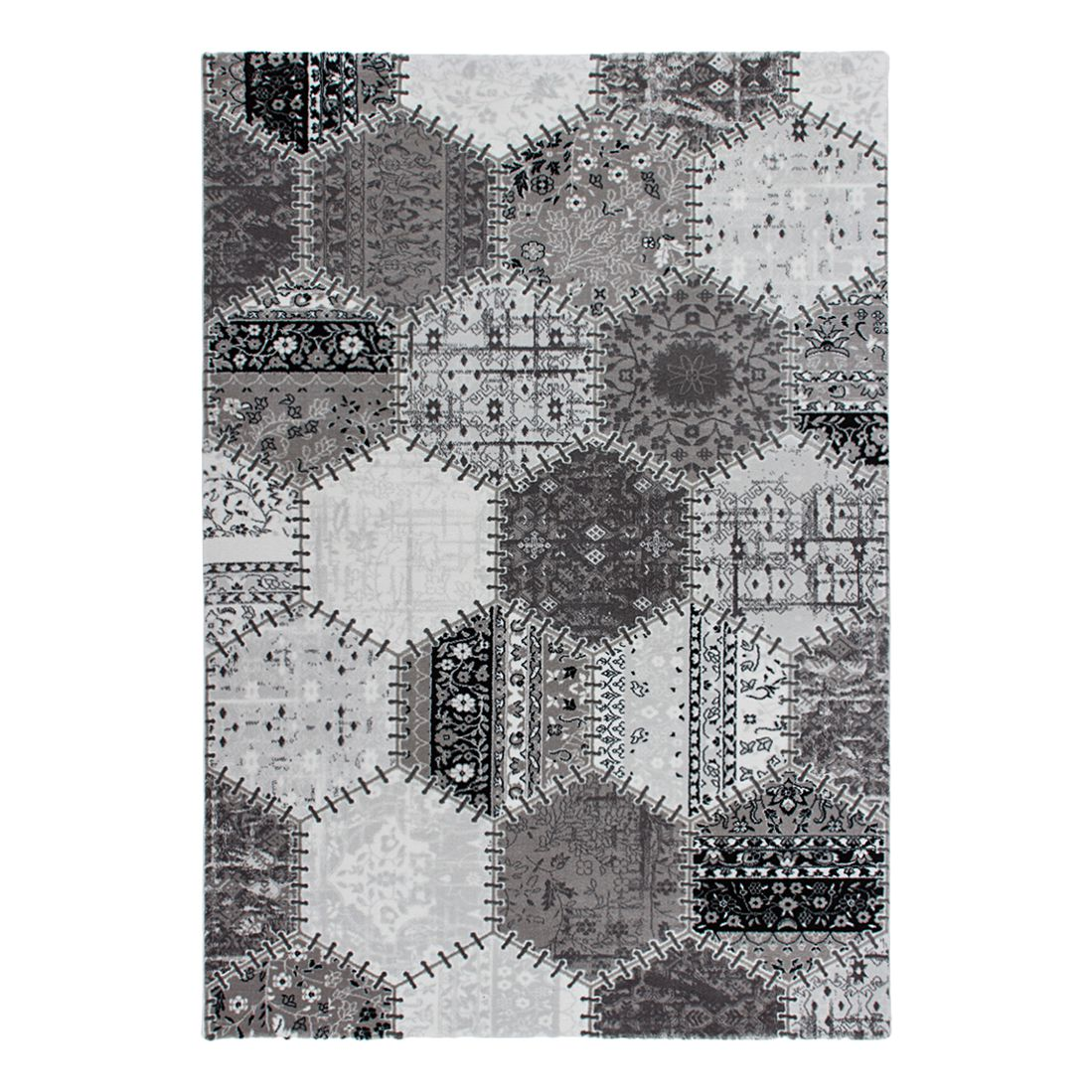 Teppich Greece – Kallithea – Silber – 200 x 290 cm, Kayoom jetzt bestellen