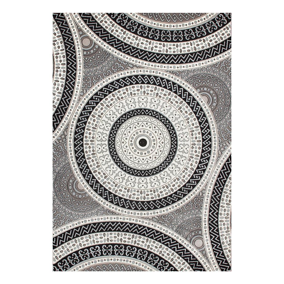 Teppich Patras – Silber – 160 x 230 cm, Kayoom günstig online kaufen