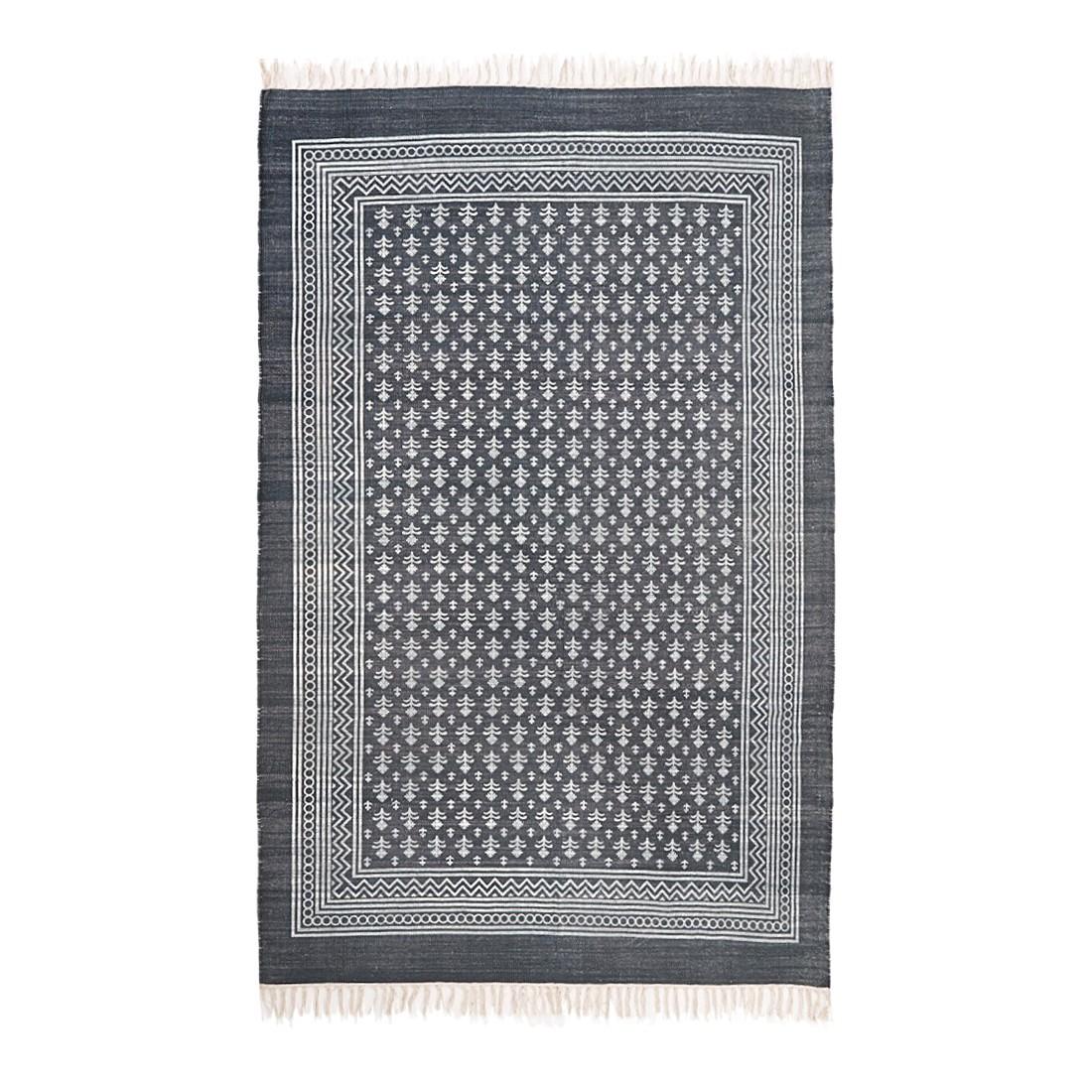 Teppich Guilford – 100% Baumwolle grau/beige, Loberon jetzt bestellen