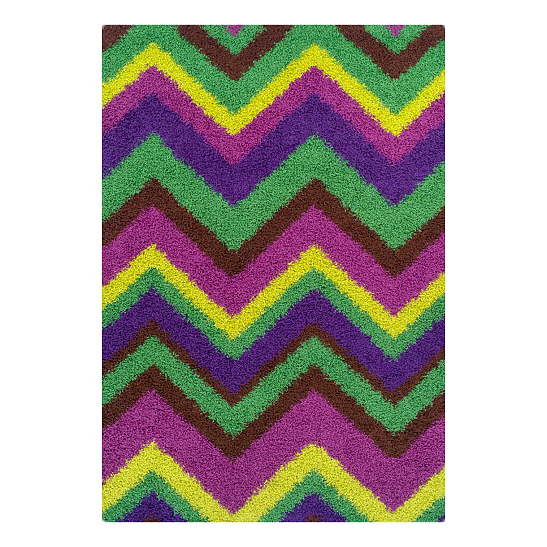 Teppich Happy Shaggy – Grün – 160 cm x 235 cm, Oriental Weavers jetzt kaufen