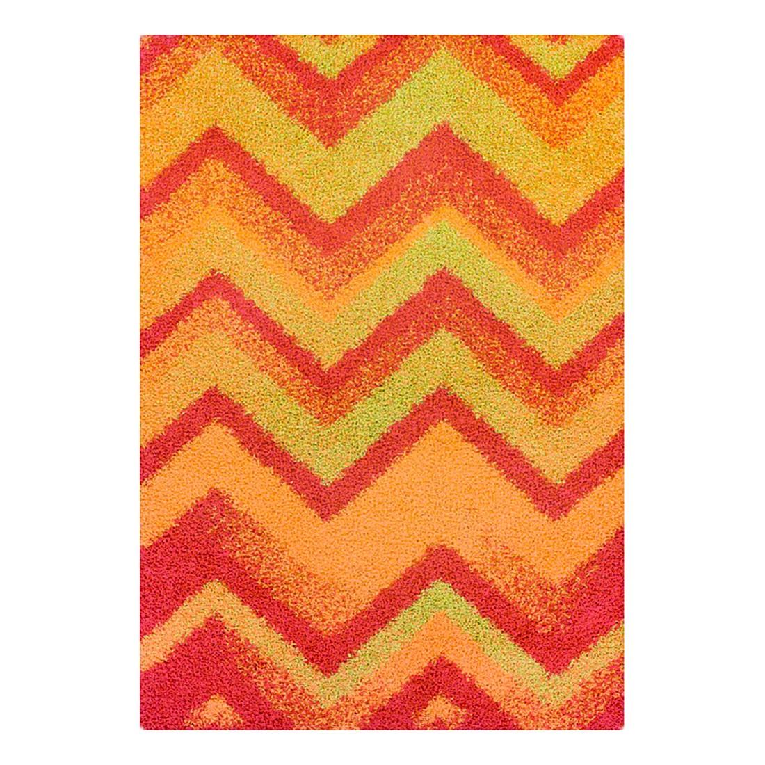 Teppich Happy Shaggy – Rot – 133 cm x 190 cm, Oriental Weavers günstig kaufen