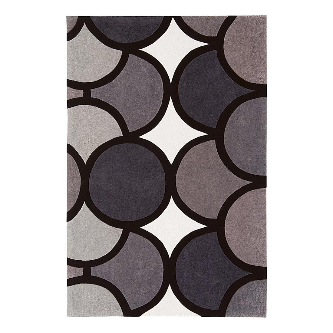 Teppich Harlequin Bubble – Grau – 160 x 230 cm, benuta günstig