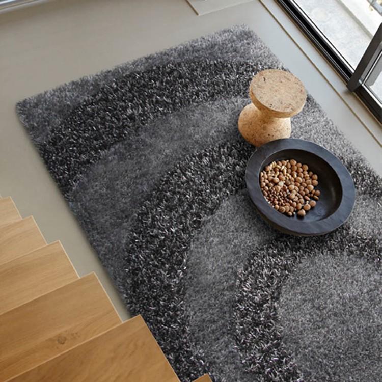 Teppich Hochflor Design – Silber – 160 x 230 cm, Home24Deko online kaufen