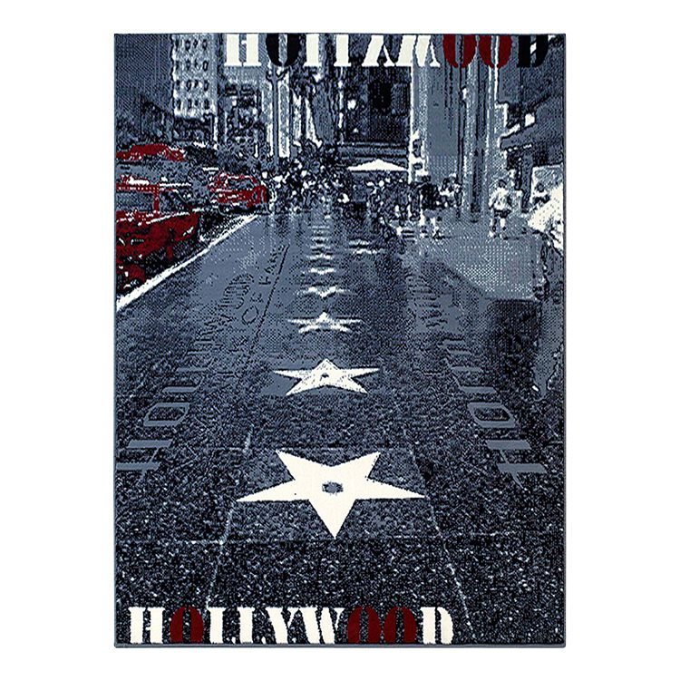 Teppich Hollywood Walk of Fame – Grau, Hanse Home Collection günstig online kaufen