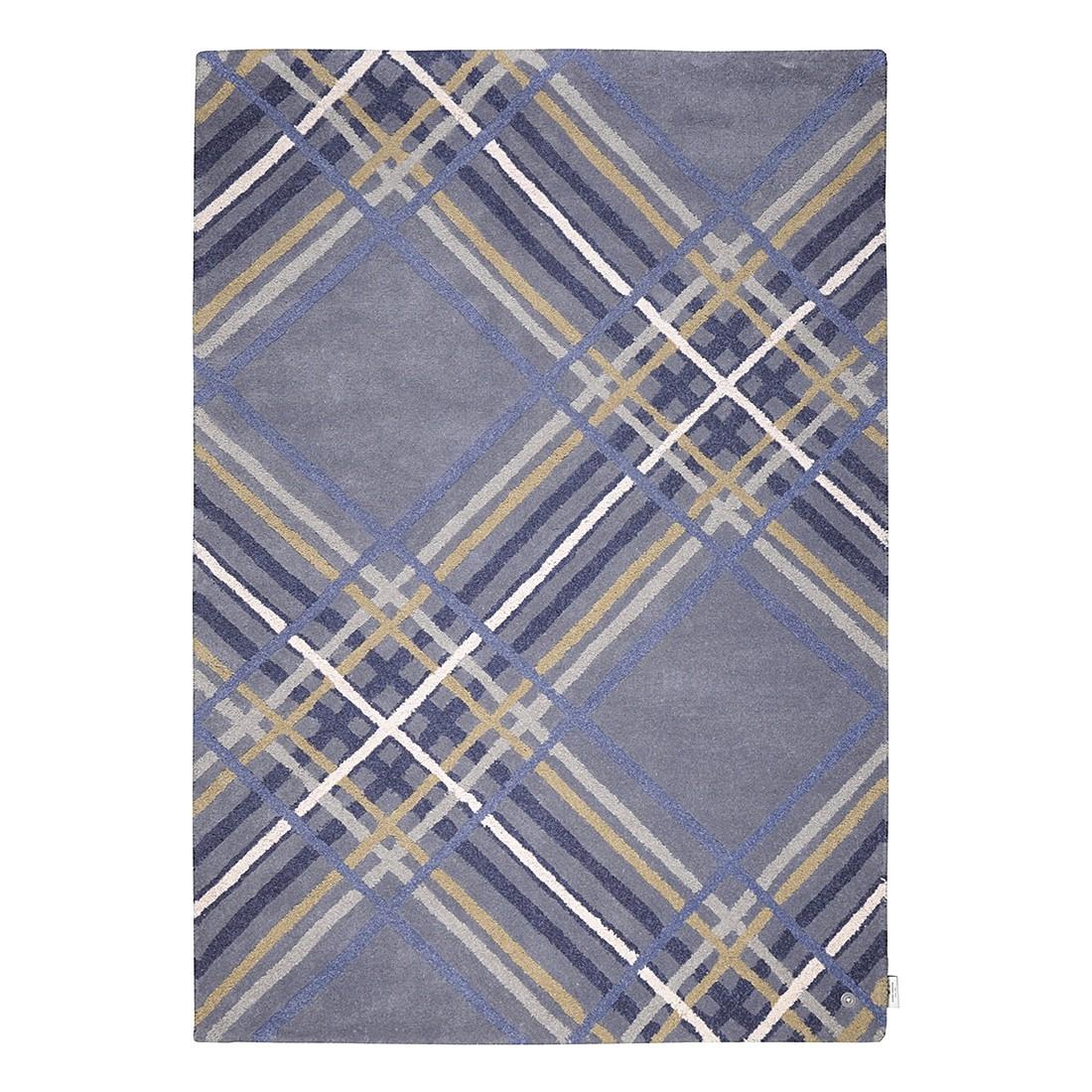 Teppich Home Large Check – Blau – Maße: 160 x 230 cm, Tom Tailor günstig kaufen