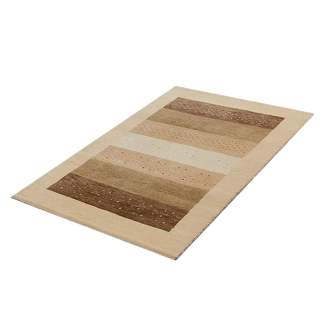 Teppich-Indo Gabbeh Yamunanagar – Braun – 60 x 90 cm, Parwis jetzt bestellen