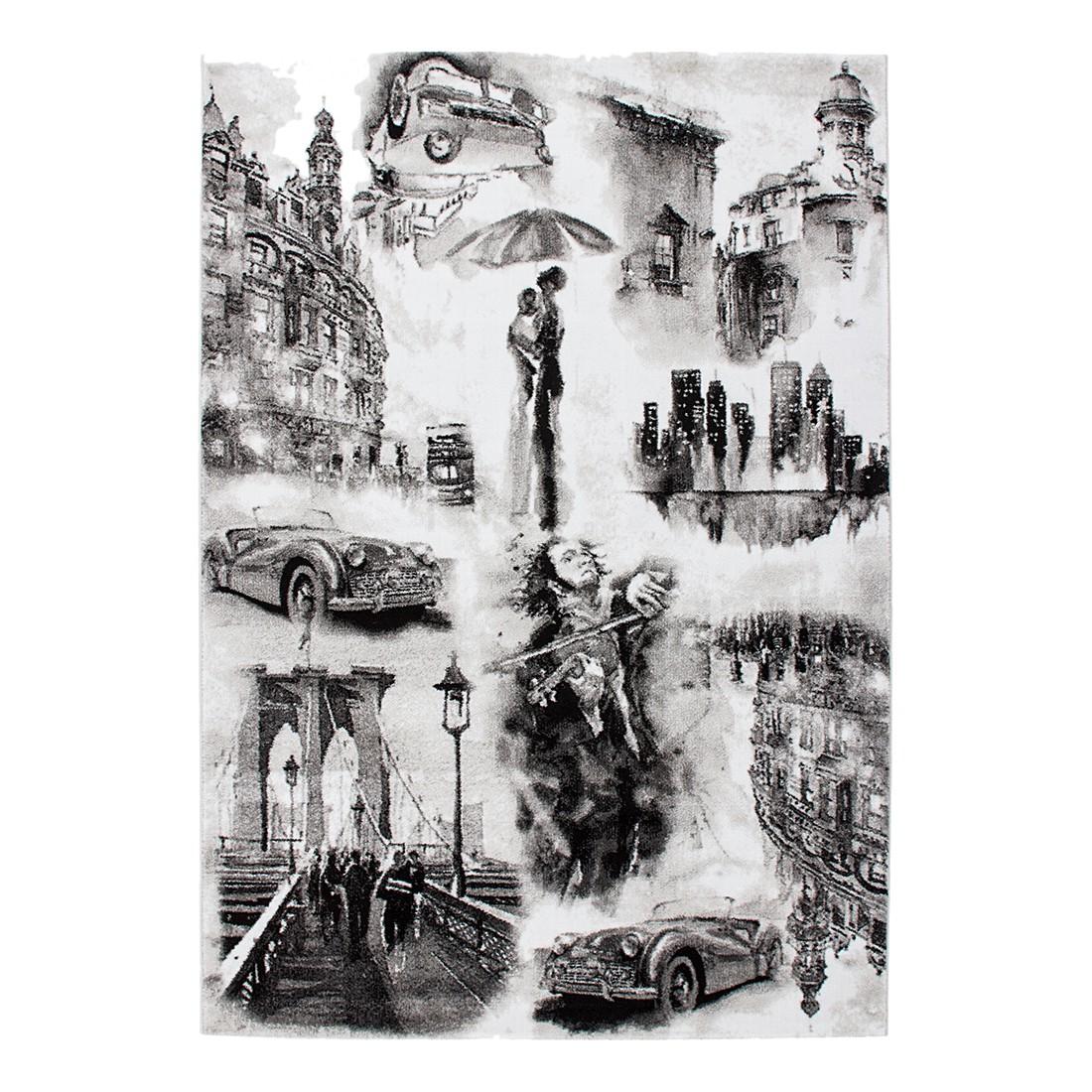 Teppich Italy – Triest – Silber – 120 x 170 cm, Kayoom online kaufen