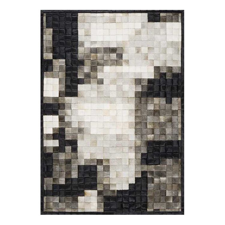 Teppich Jam Craft - Beige / Schwarz - 240 x 340 cm, Papilio