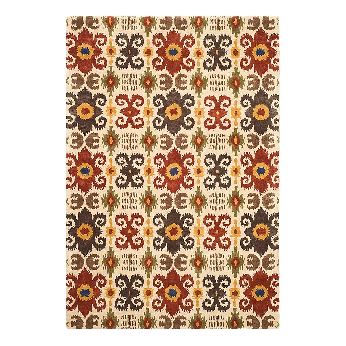 Teppich Kais – Creme/Rot – 153 x 244 cm, Safavieh jetzt kaufen