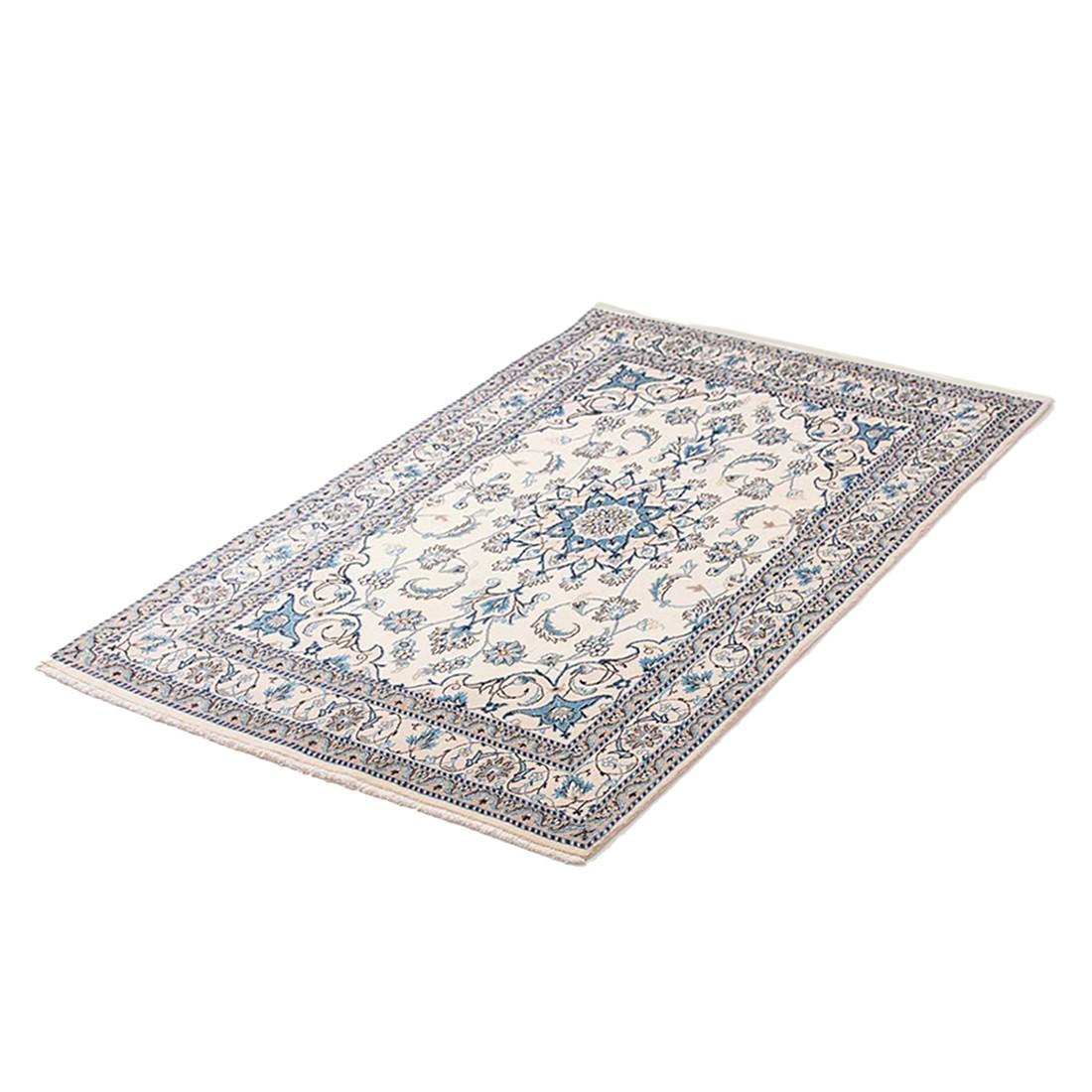 teppich khorasan nain beige reine schurwolle 120 x 200 cm parwis jetzt kaufen. Black Bedroom Furniture Sets. Home Design Ideas