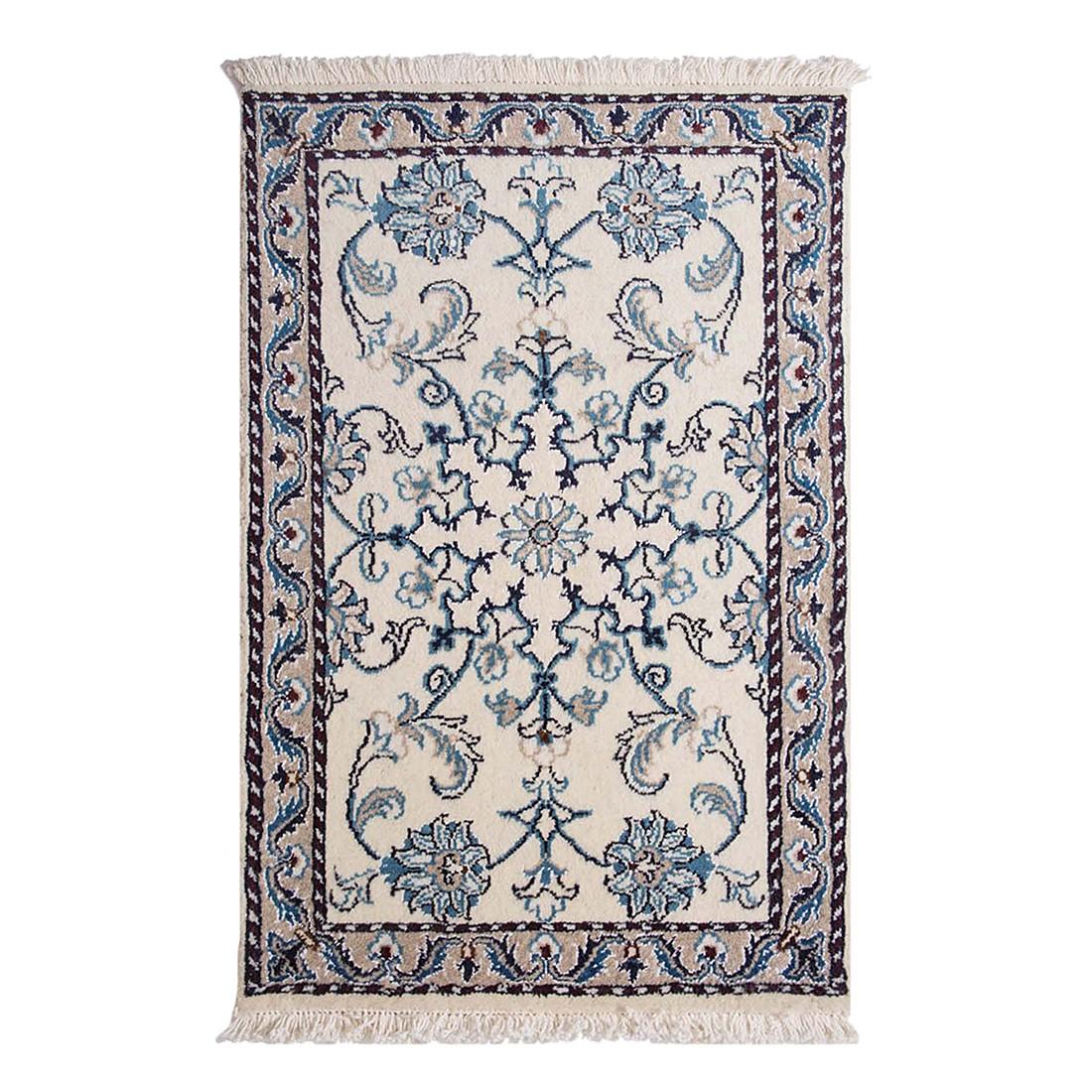 Teppich-Khorasan Nain Beige – Reine Schurwolle – 40cm x 60cm, Parwis günstig bestellen