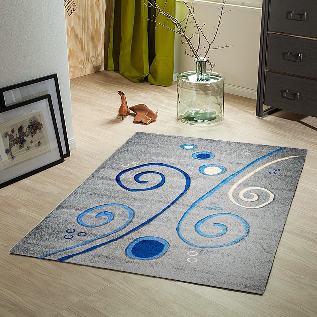 Teppich Liam – Grau – 120 x 170 cm, Testil online bestellen