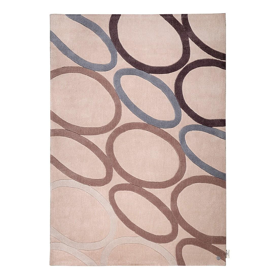 Teppich Life Oval – Beige – Maße: 160 x 230 cm, Tom Tailor jetzt bestellen