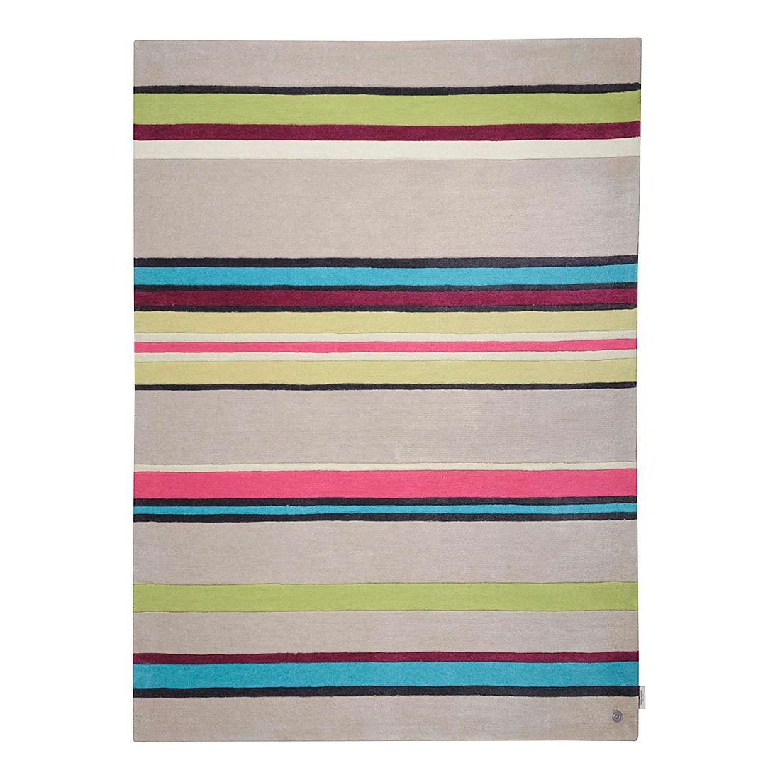 Teppich Life Stripes – Multicolor – Maße: 160 x 230 cm, Tom Tailor günstig online kaufen