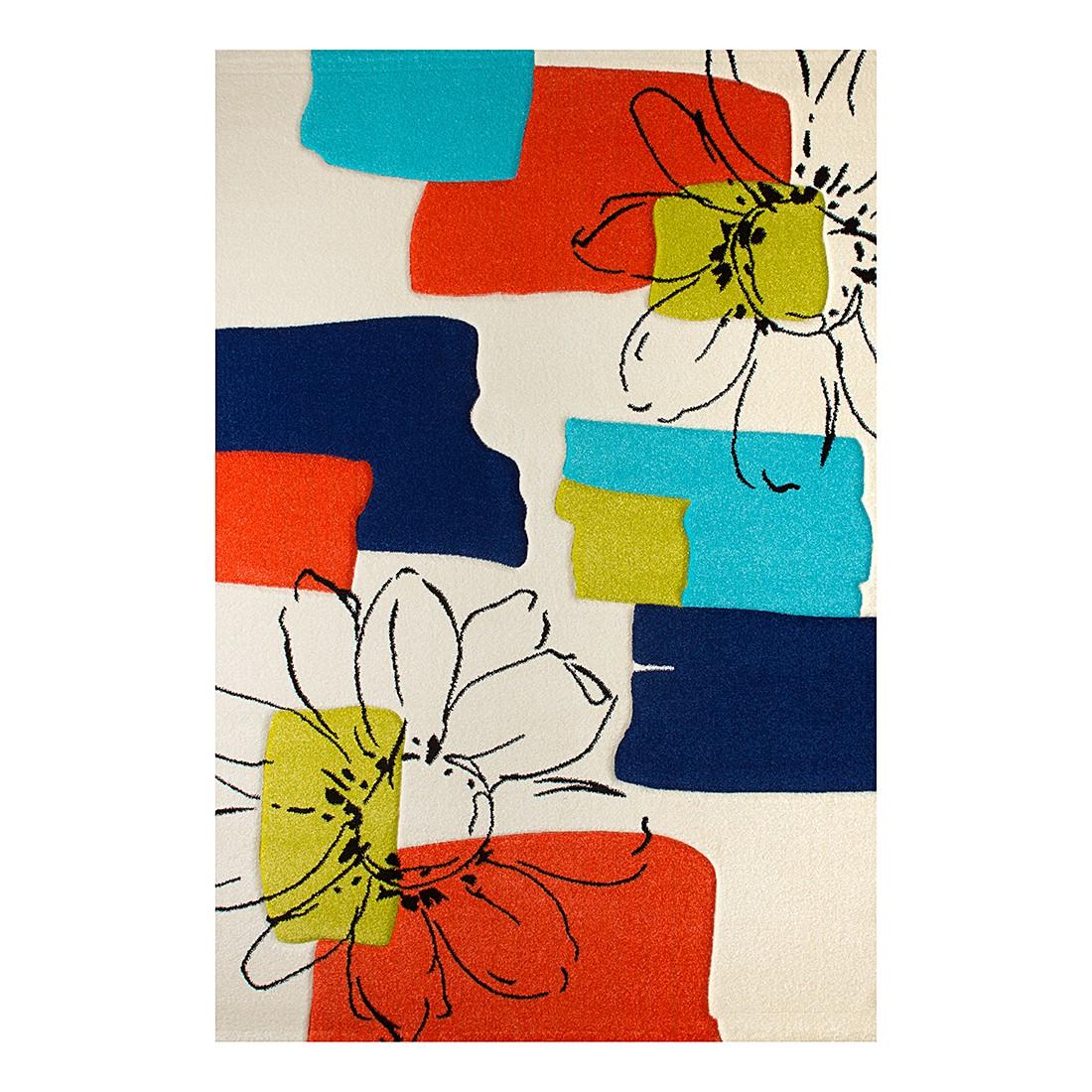 Teppich Flower Love – Weiß – 160 x 230 cm, Obsession günstig