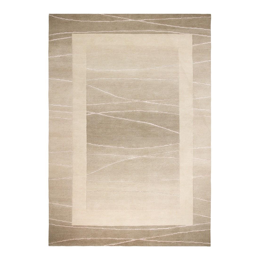 Teppich Linea – Wolle/ Beige – 200 cm x 300 cm, Luxor living jetzt bestellen