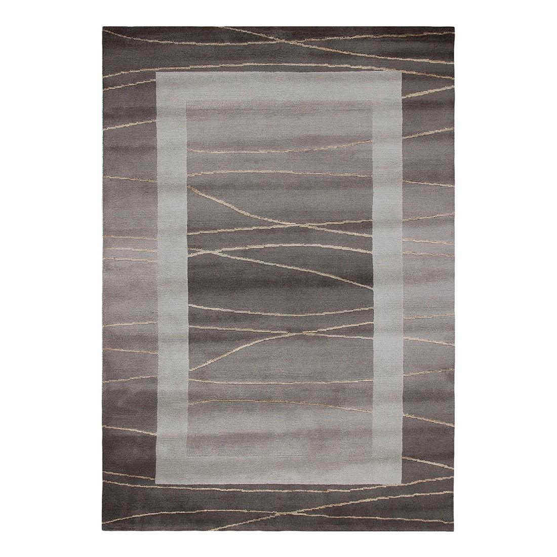 Teppich Linea - Wolle/ Hellbraun - 170 cm x 240 cm, Luxor living