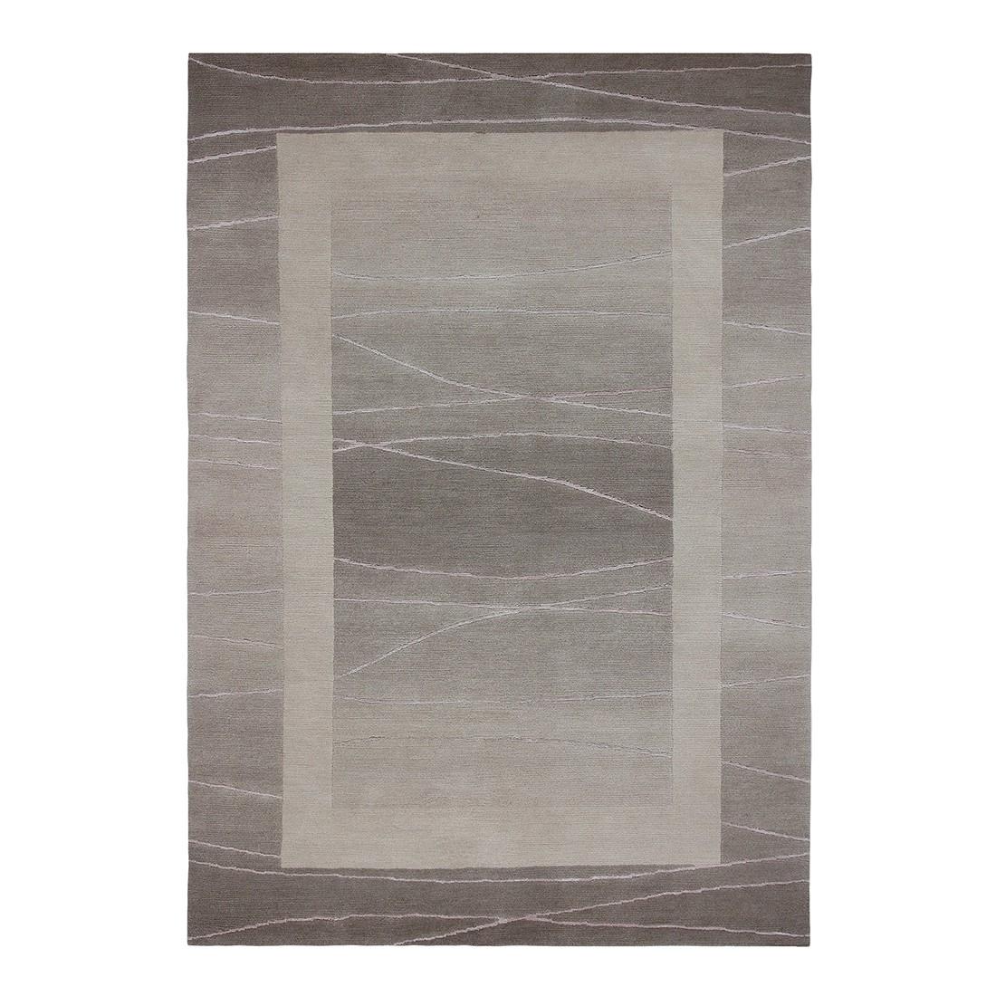 Teppich Linea – Wolle/ Sand – 200 cm x 300 cm, Luxor living günstig online kaufen