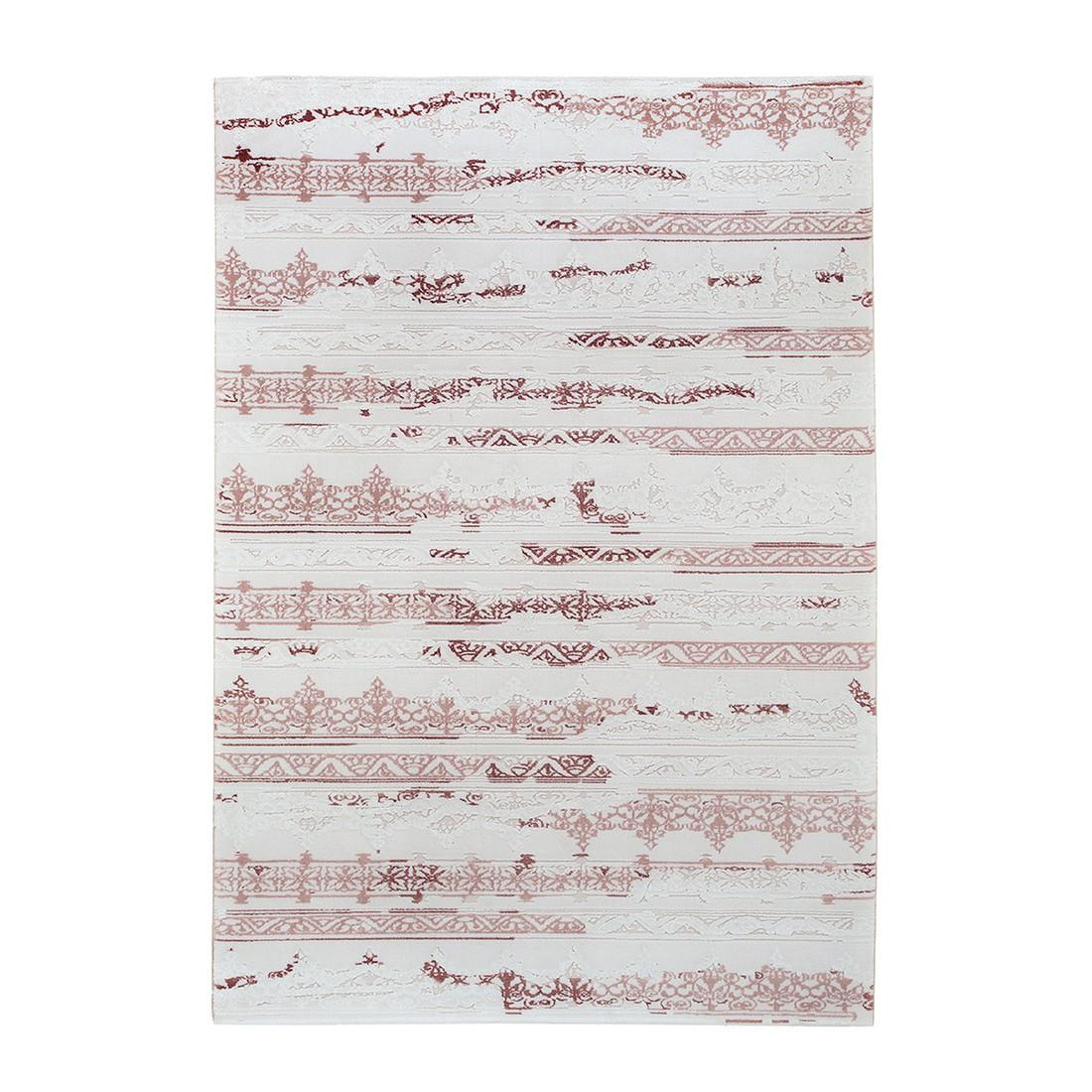 Nano Teppich Lokum Dantel – Pink – Maße: 80 x 150 cm, Kayoom günstig bestellen