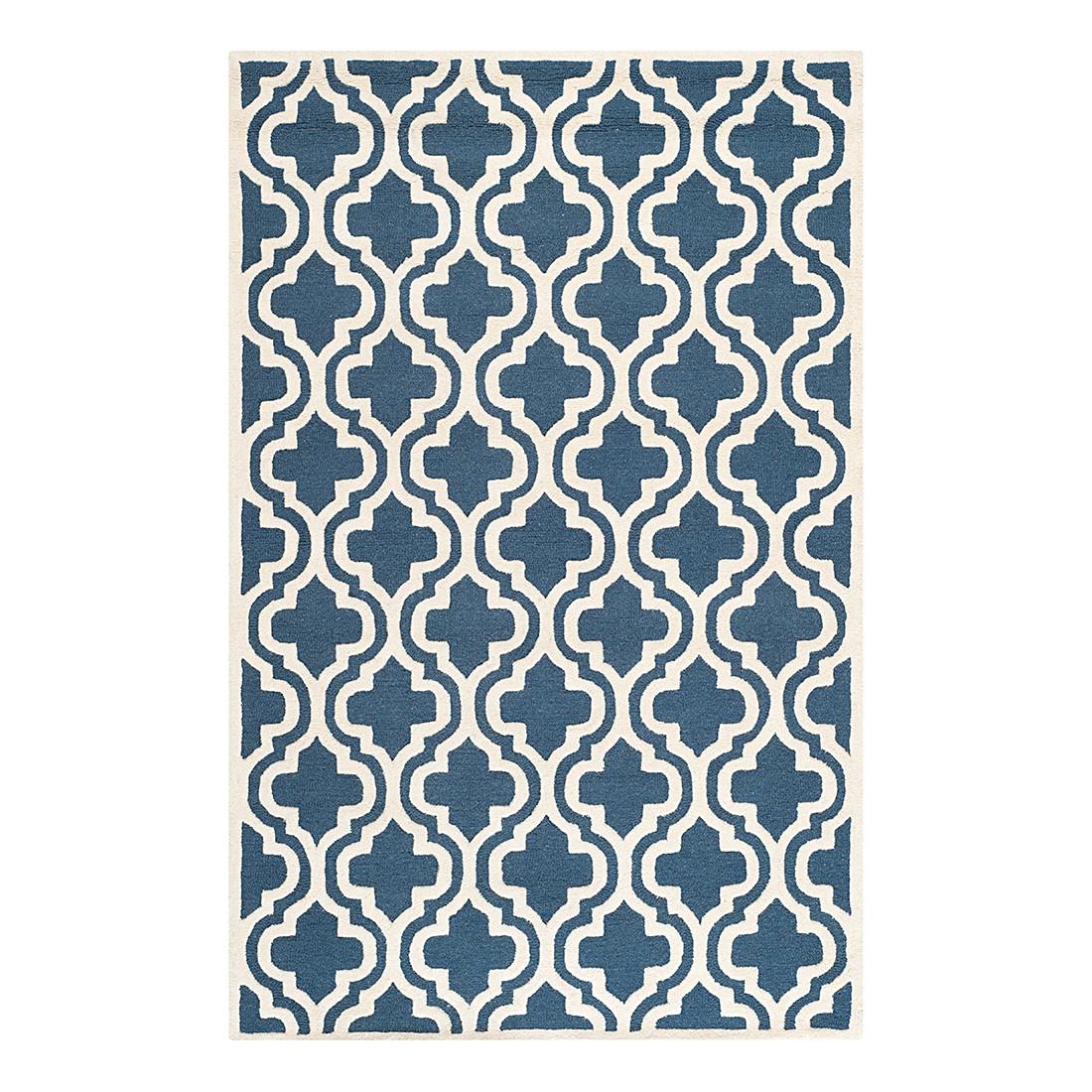 Teppich Lola – Marine/Elfenbein – Maße:  182 x 274  cm, Safavieh günstig kaufen