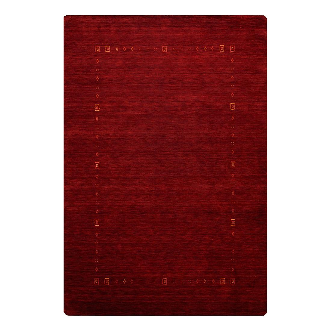 Teppich Lori Dream - Wolle/Rot - 250 cm x 350 cm, Theko die markenteppiche