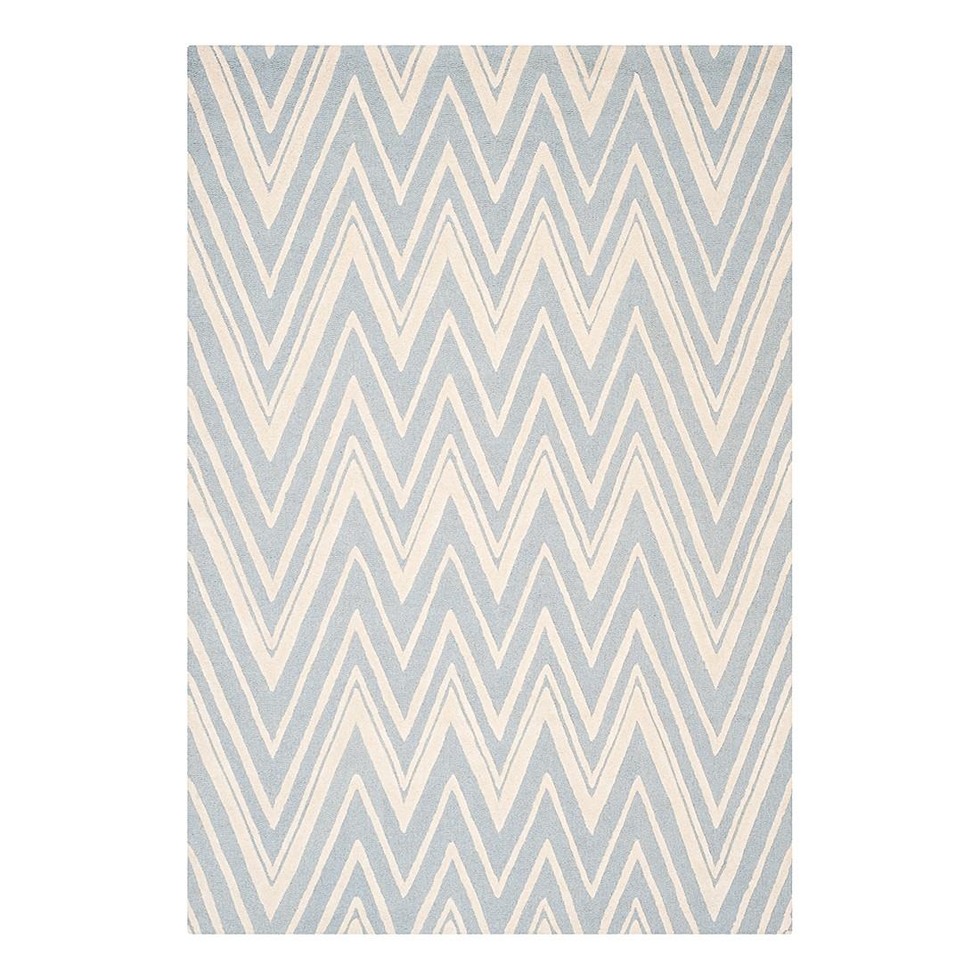 Teppich Luca – Blau/Elfenbein – Maße:  152 x 243  cm, Safavieh günstig kaufen