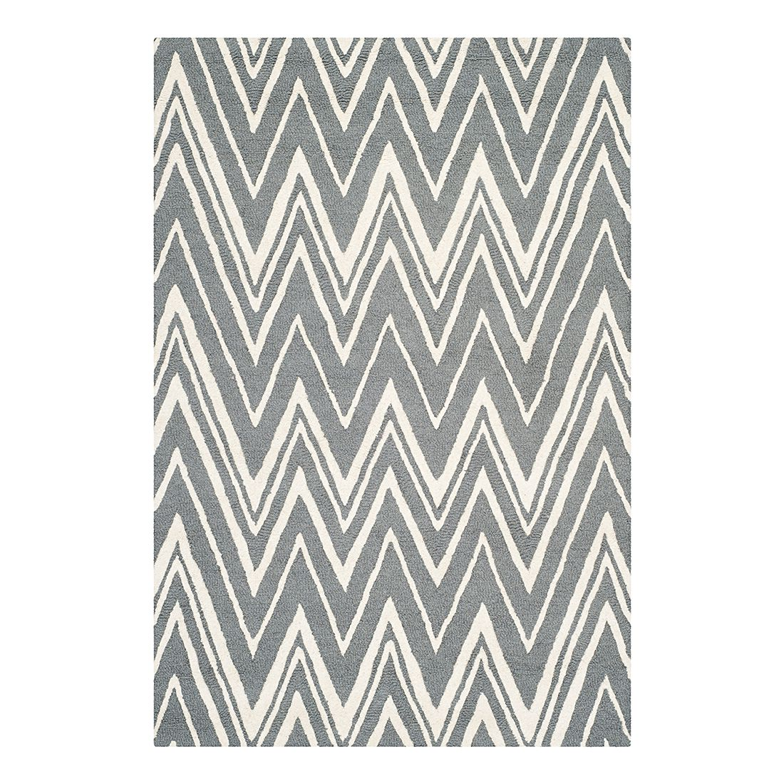 Teppich Luca – Grau/Elfenbein – 120 x 180 cm, Safavieh online bestellen