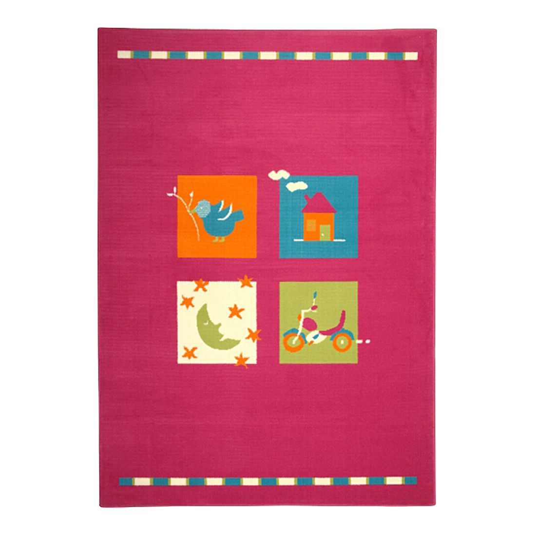 Teppich Luna Kids 550516 – Pink – 225 x 160 cm, KC-Handel online bestellen