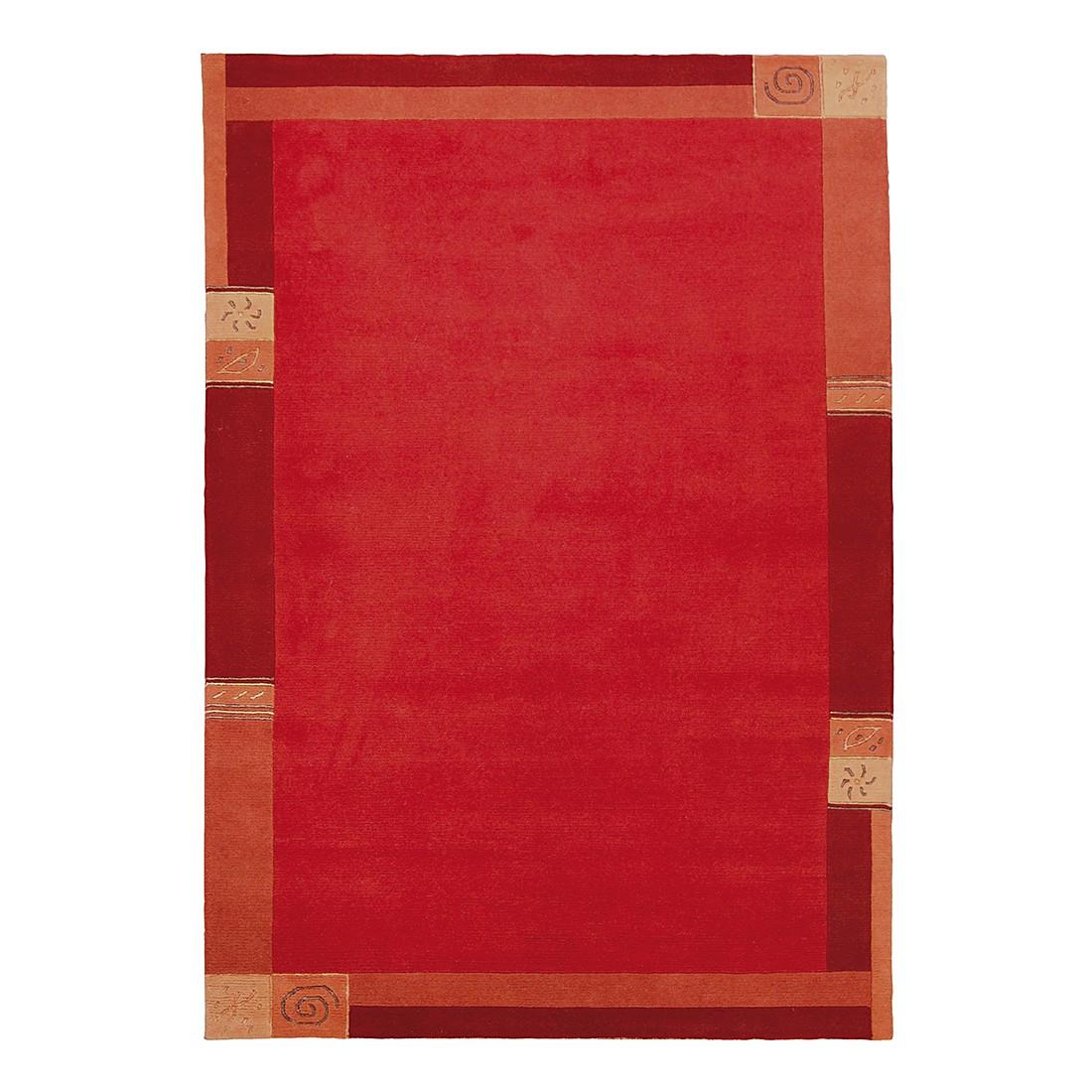 teppich manali wolle rot 120 cm x 180 cm luxor living g nstig bestellen. Black Bedroom Furniture Sets. Home Design Ideas