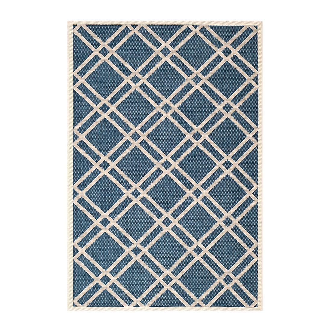 In-/Outdoorteppich Marbella – Blau/Beige – Maße: 200 x 289 cm, Safavieh bestellen