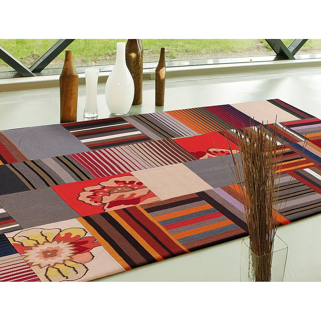 Teppich Mash Up – Wolle/Rot – 240 x 170 cm, Talis Teppiche jetzt kaufen