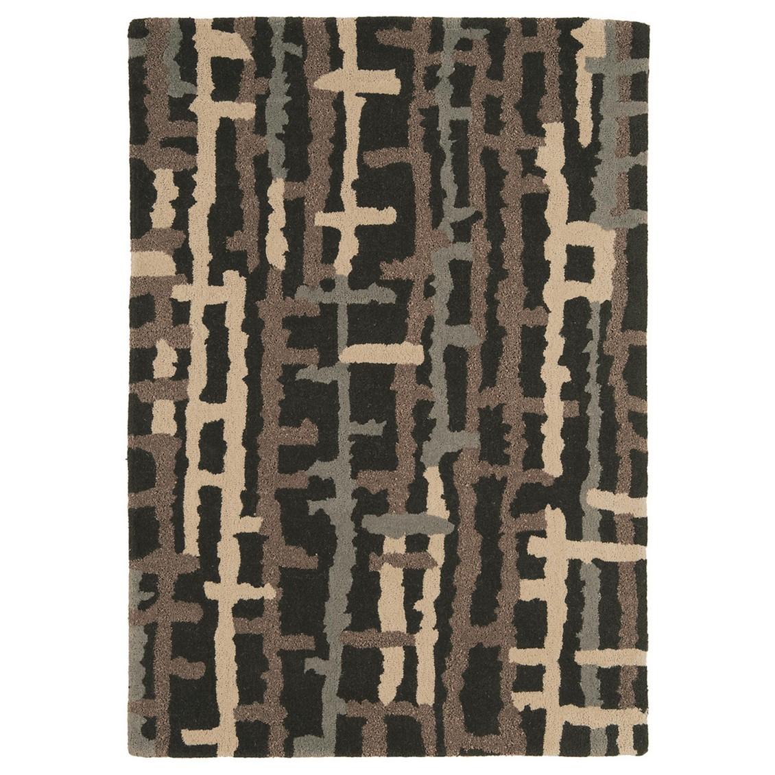 teppich matrix ripley braun 160 x 230 cm benuta jetzt bestellen. Black Bedroom Furniture Sets. Home Design Ideas