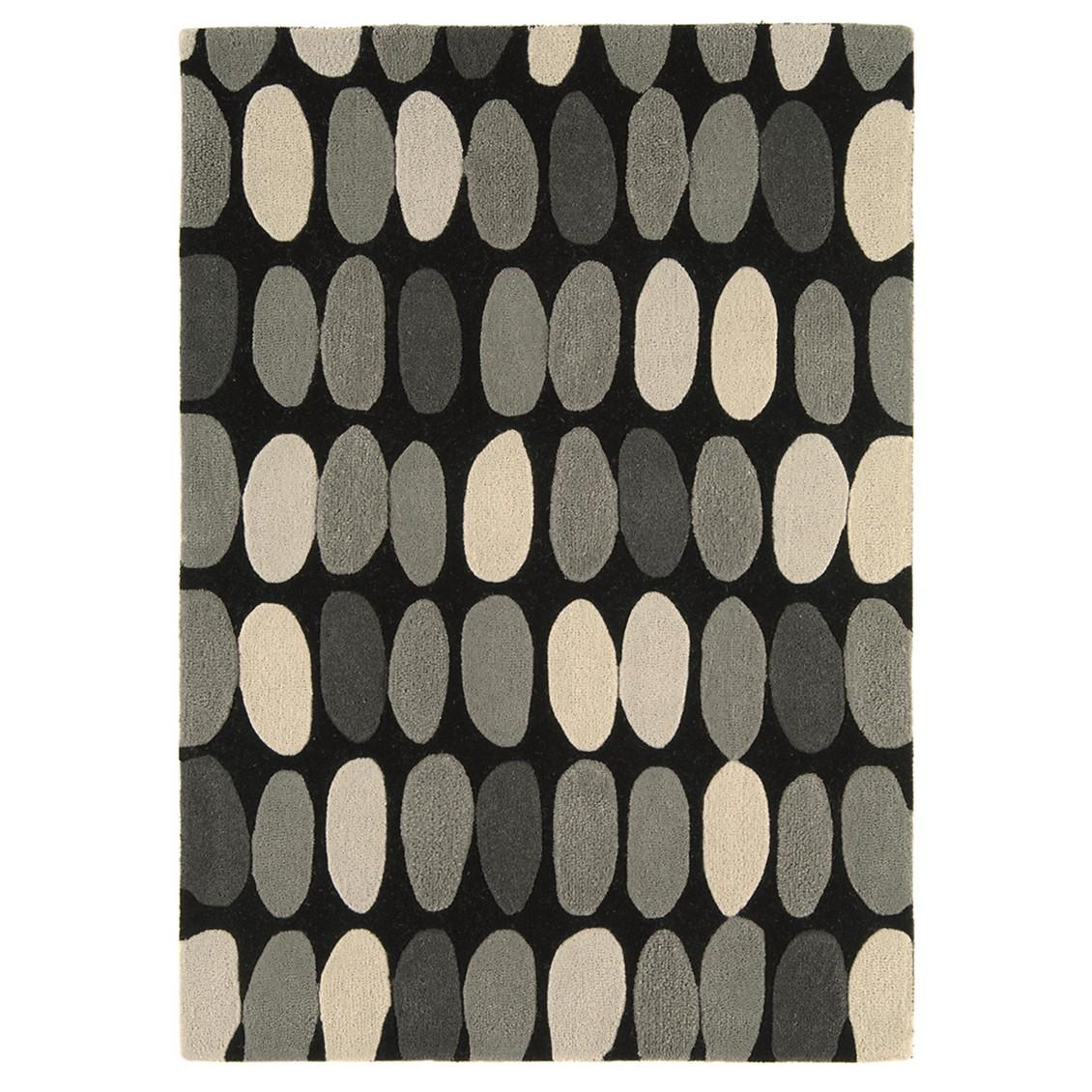 Teppich Matrix Sofia – Grau – 160 x 230 cm, benuta günstig online kaufen