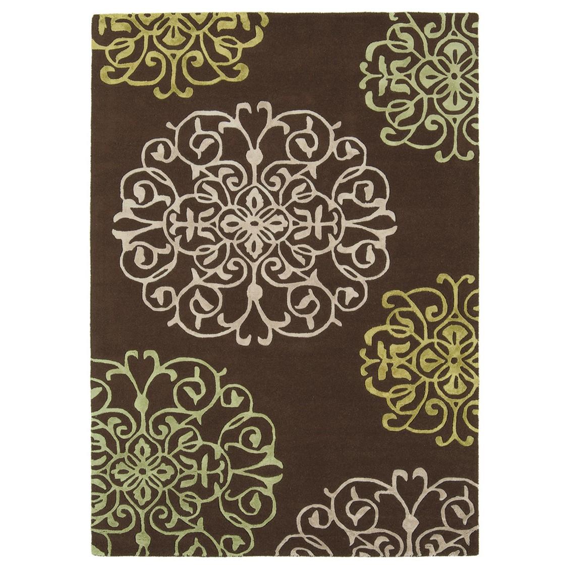 Teppich Matrix Tangier-Braun – 160 x 230 cm, benuta kaufen