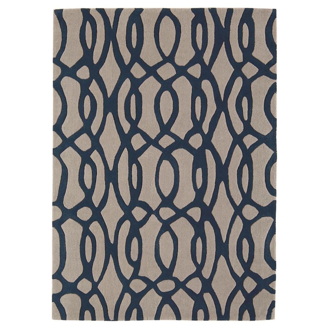 Teppich Matrix Wire – Blau – 120 x 170 cm, benuta jetzt kaufen