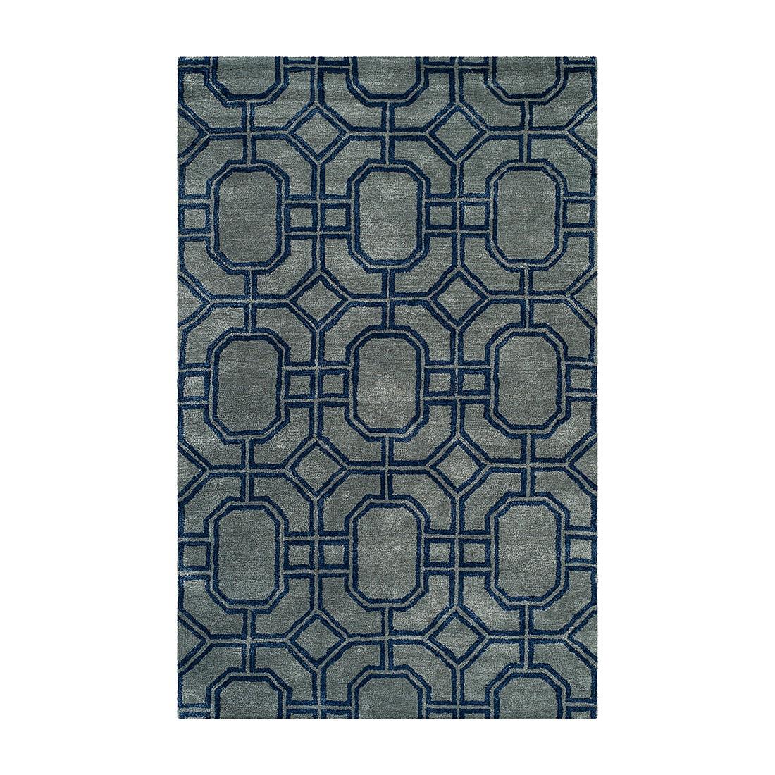 Teppich Milo – Grau/Dunkelblau – 107 x 168 cm, Safavieh günstig kaufen