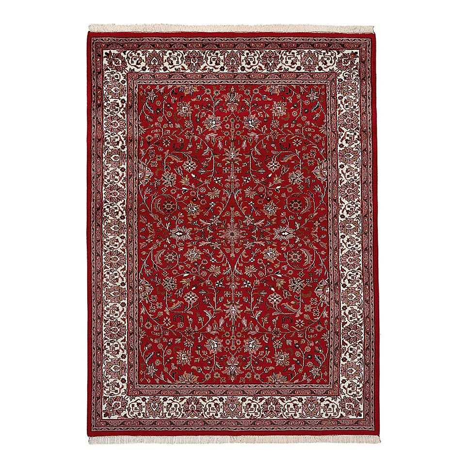 Teppich Mohammadi Täbriz – Rot – 80 x 350 cm, Parwis günstig online kaufen