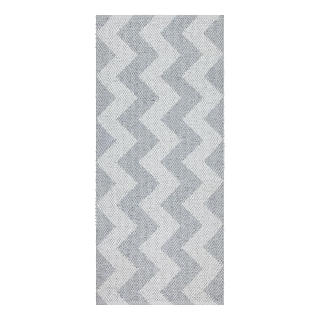 In-/Outdoorteppich Mora I – Kunstfaser Hellgrau/Grau – 60 x 120 cm, Swedy günstig kaufen