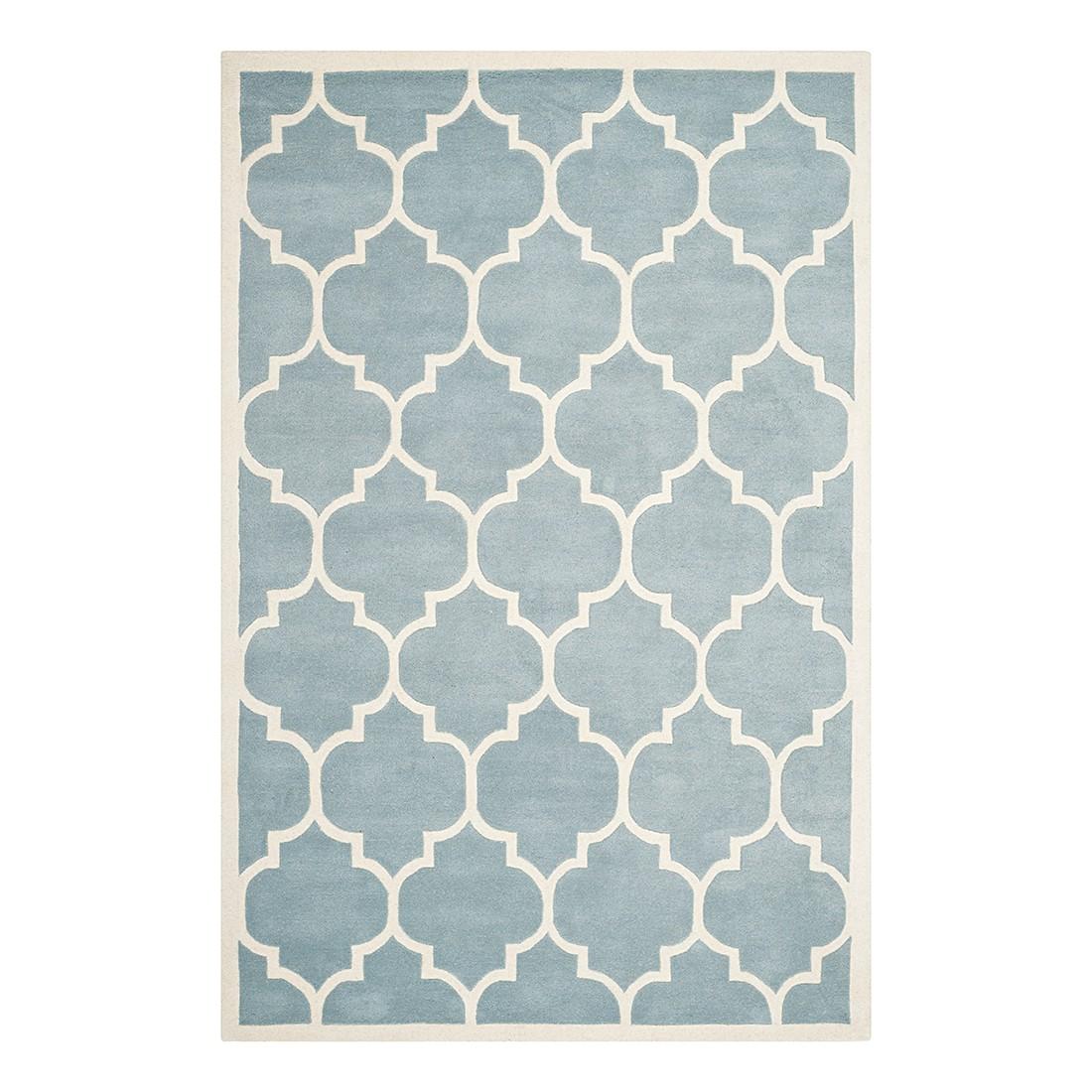 Teppich Morton – Blau/Creme – Maße: 121 x 182 cm, Safavieh günstig online kaufen