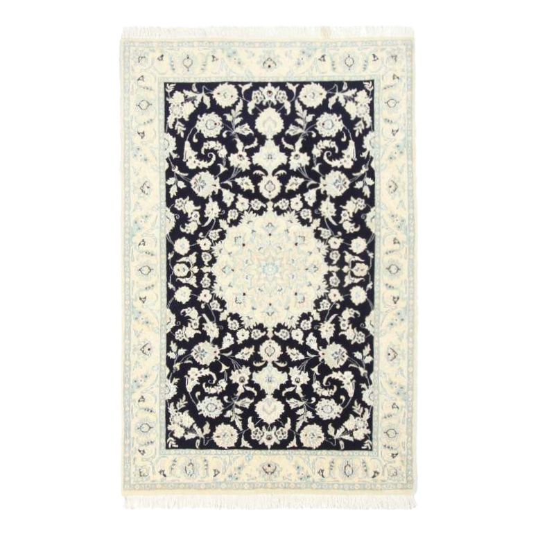 Teppich Nain Scherkat Royal – Blau – 60 x 90 cm, Parwis kaufen