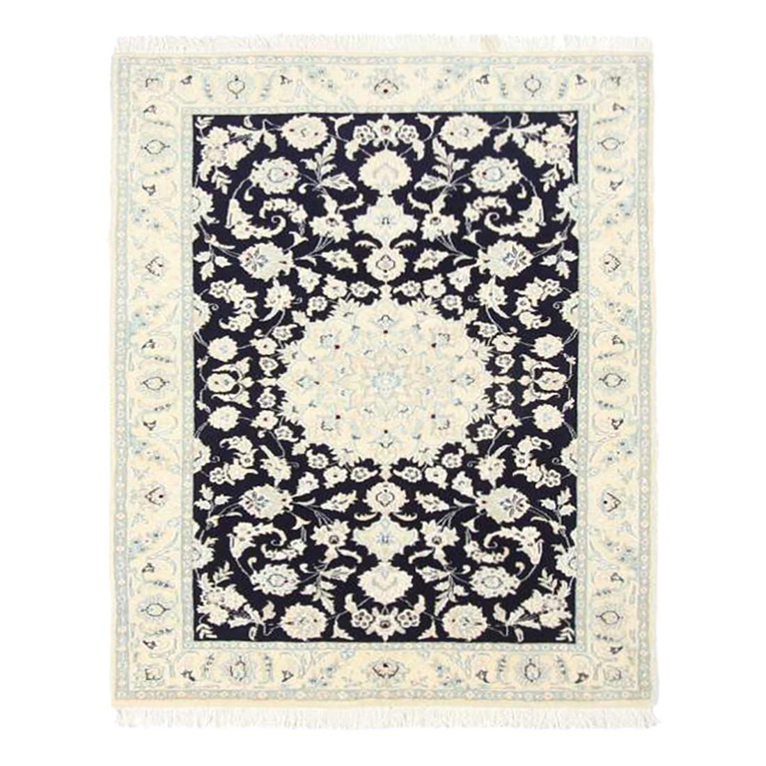 Teppich Nain Scherkat Royal - Blau - 80 x 300 cm, Parwis