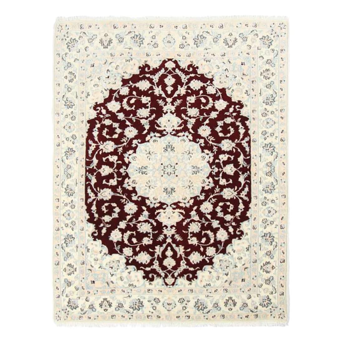 Teppich Nain Scherkat Royal - Rot - 120 x 200 cm, Parwis