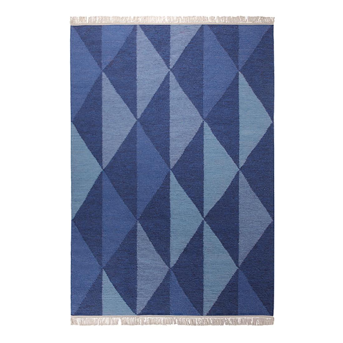Teppich Natural Triangular – Blau – Maße: 160 x 230 cm, Esprit Home bestellen