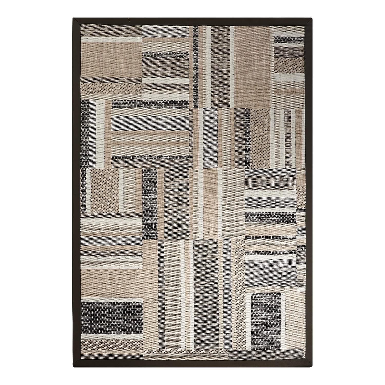 Teppich Naturino Patchwork - Anthrazit - 80 x 160 cm Dekowe